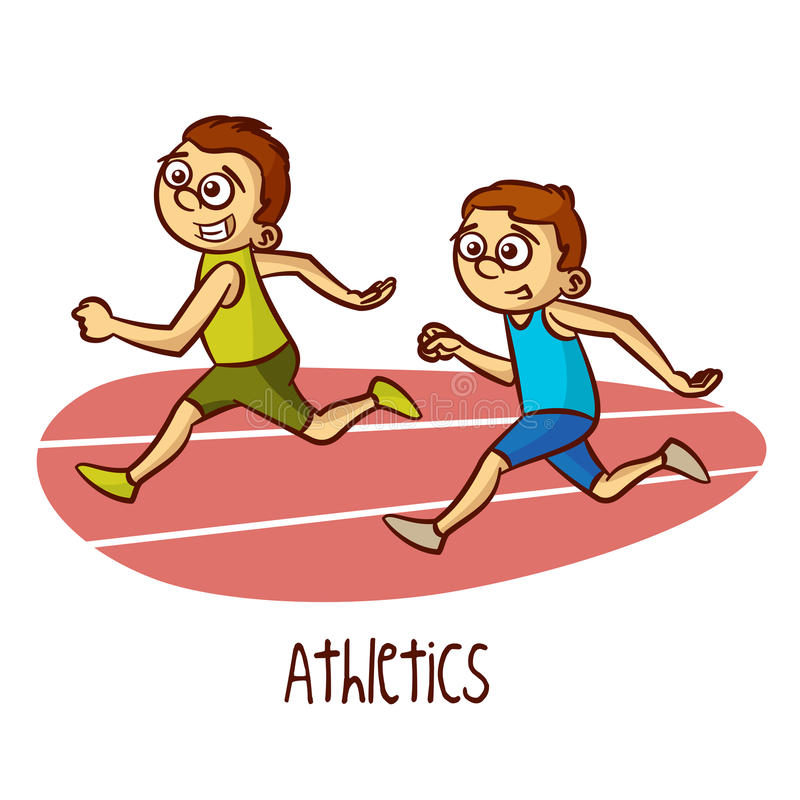 Image result for cartoon athletics
