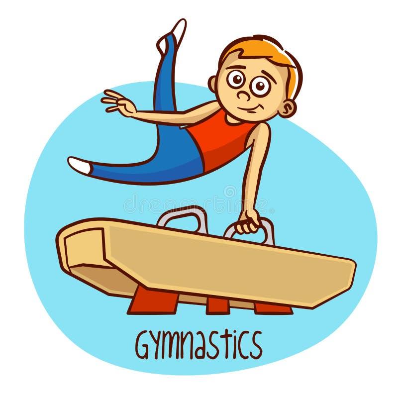 summer olympic sports gymnastics stock vector illustration of rh dreamstime com