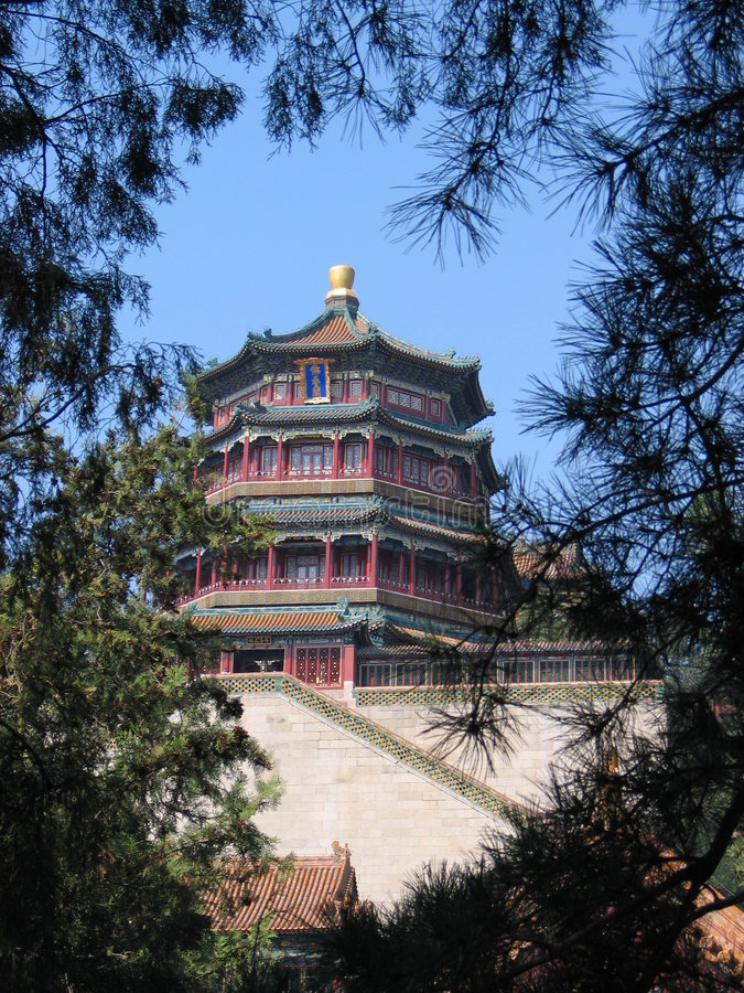 Summer palace royalty free stock photography