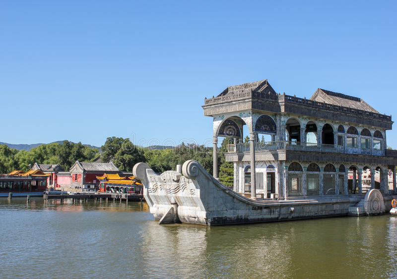 The Summer Palace in Beijing stock image