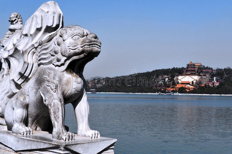 The Summer Palace in Beijing China royalty free stock image