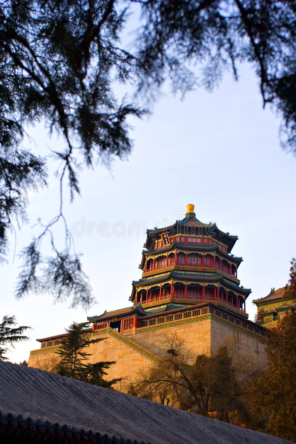 The Summer Palace,Beijing,China Royalty Free Stock Photography