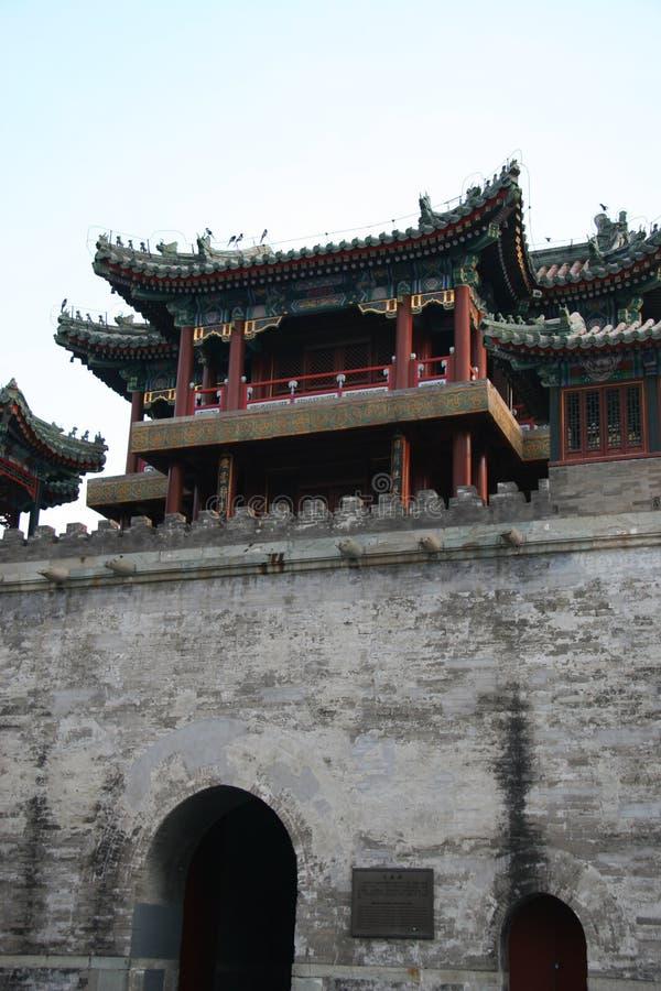 Summer Palace - Wenchang Tower royalty free stock image