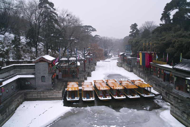 Download Summer Palace In Winter Stock Photos - Image: 36268003