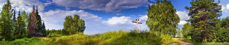 Summer panorama stock photography