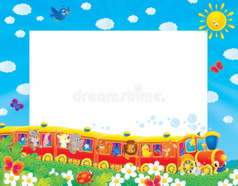 Download Summer Photo-frame / Background Stock Illustration - Image: 4673263
