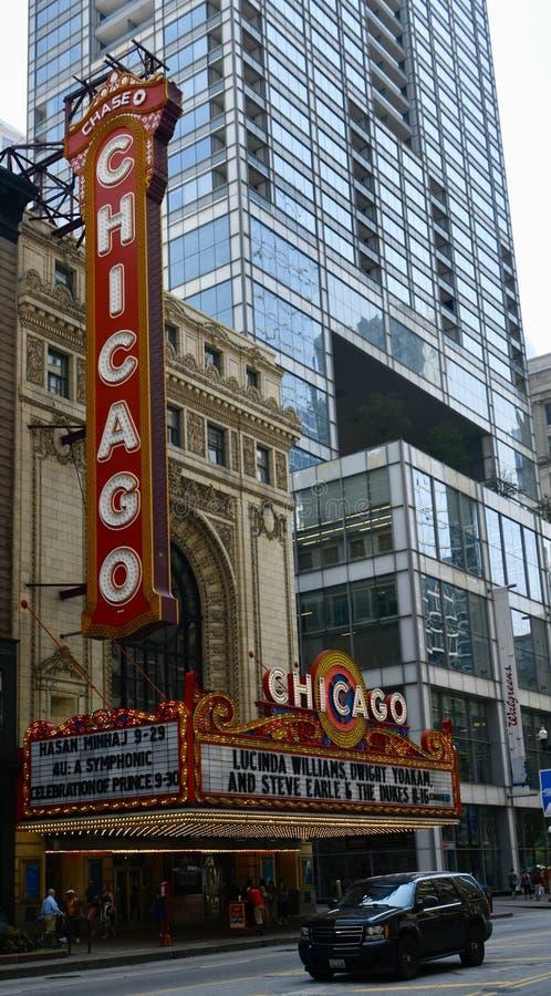 Chicago Theatre stock images