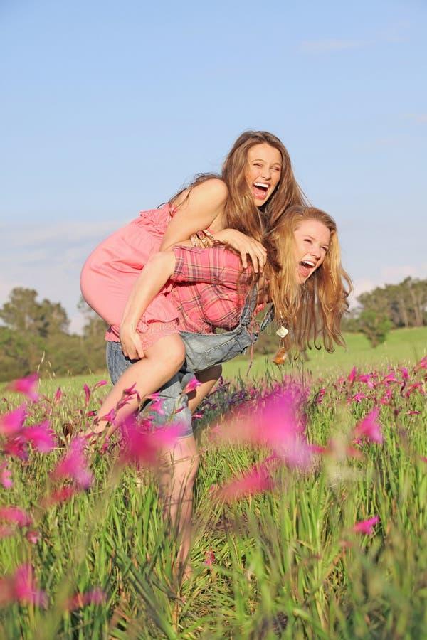 Summer Piggyback Stock Photography
