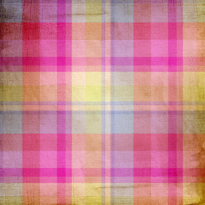 Download Summer Pink And Blue Candy Pastel Plaid Stock Illustration - Image: 25626112