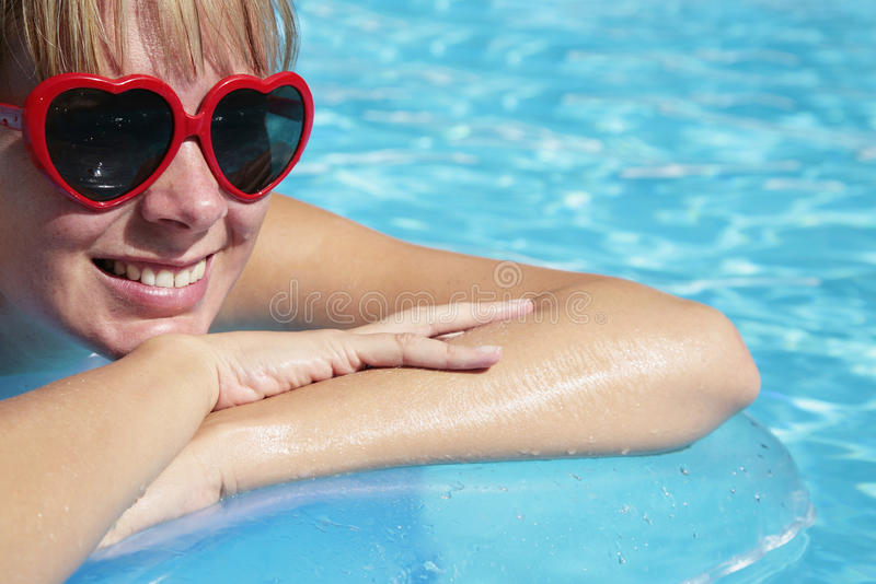 Summer Pool royalty free stock photos