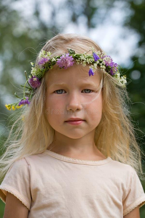 Summer portrait stock photo