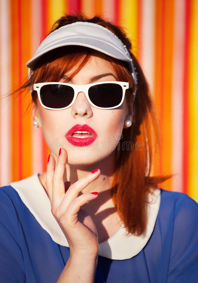 Summer Portrait Royalty Free Stock Photography