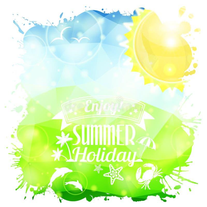 Summer Poster vector illustration