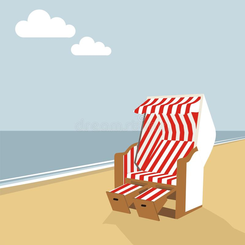 Summer poster stock illustration