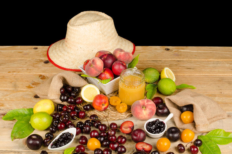 Summer produce stock photos