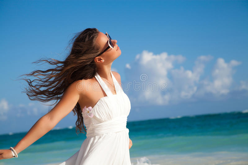 Summer always put a smile on my face stock images