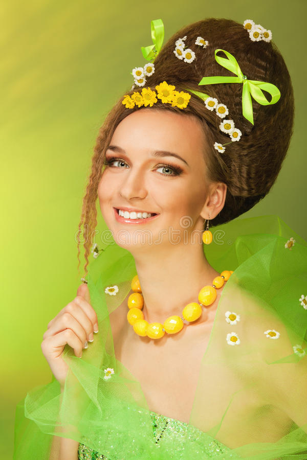 Summer queen royalty free stock images