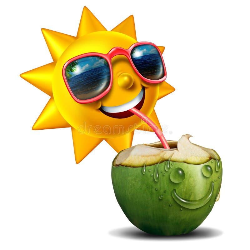 Summer Refreshment vector illustration