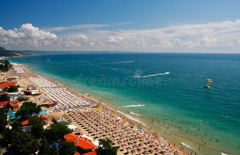 Summer resort royalty free stock image