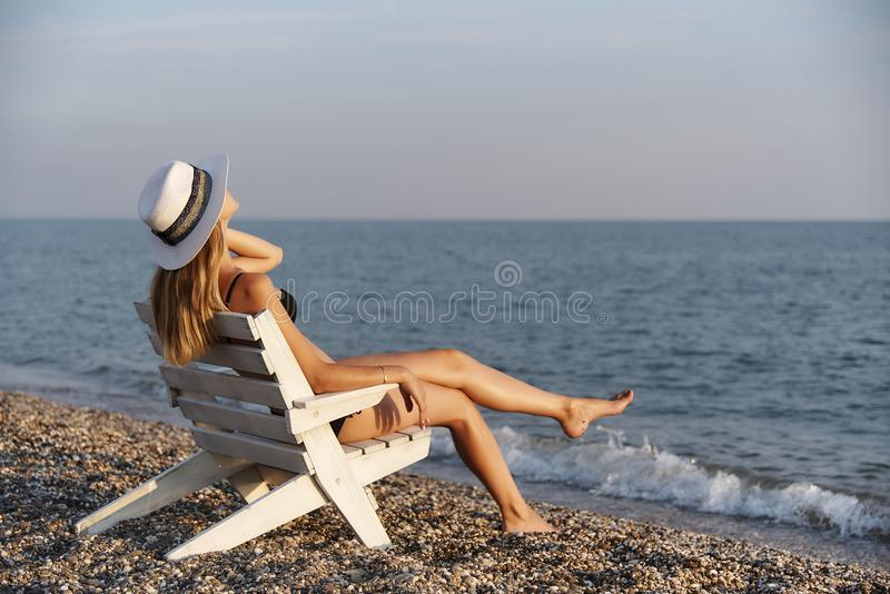 Summer rest royalty free stock photo