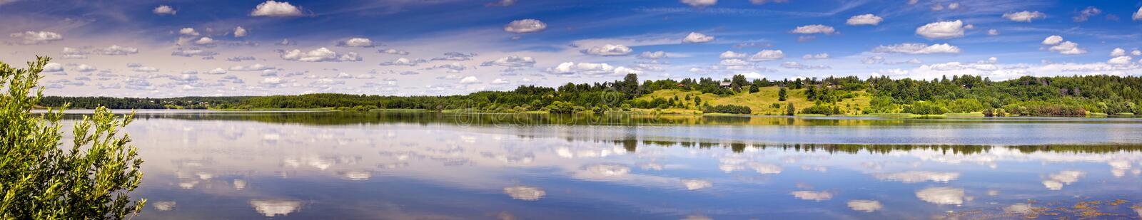 Summer river royalty free stock images