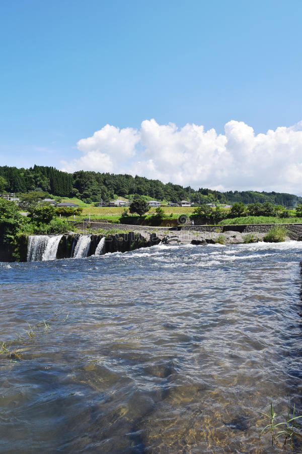 Summer river royalty free stock photography