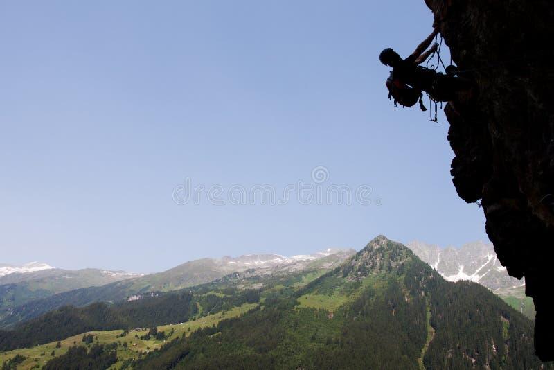 Download Summer rock climbing stock image. Image of alps, klettersteig - 25908501