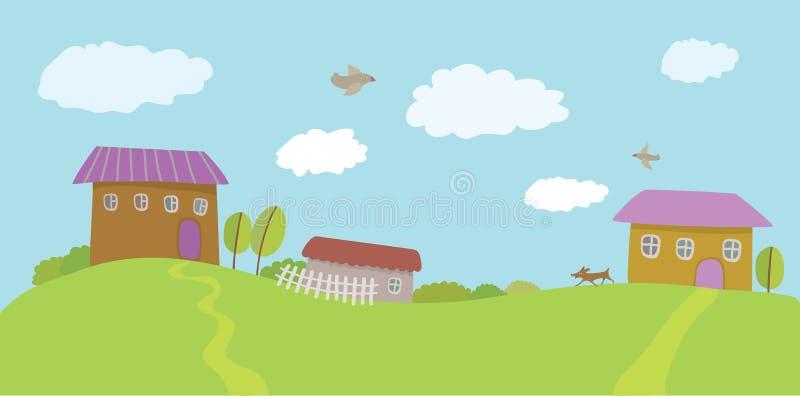 Summer Rural Landscape Royalty Free Stock Image