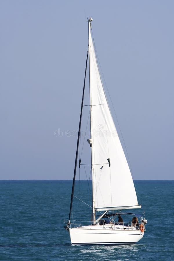 Summer sailboat royalty free stock photo