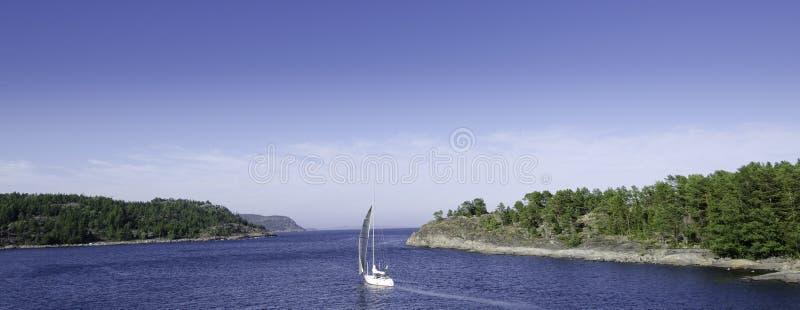Summer sailing stock photos