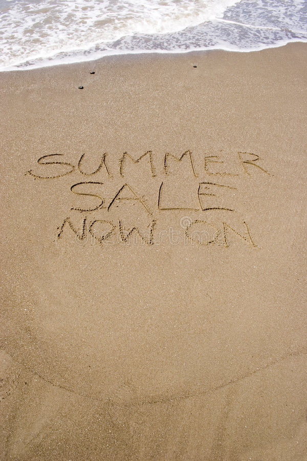 Download Summer Sale stock photo. Image of water, salty, happy - 1560800