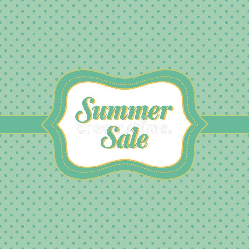 Summer Sale Banner Stock Vector