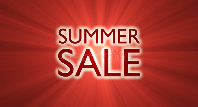 Download Summer Sale Banner Red Light Flare Stock Photos - Image: 6231903