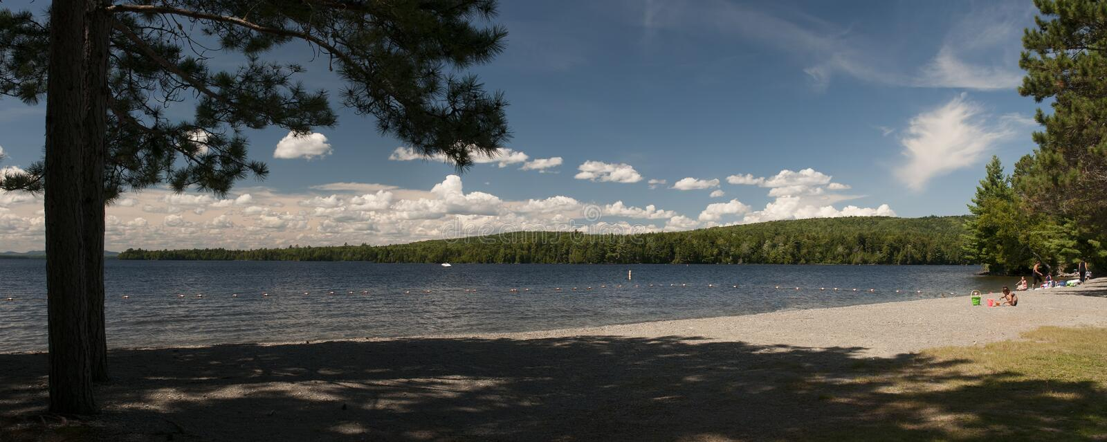 Download Summer scenic lake beach stock image. Image of beach - 32800763