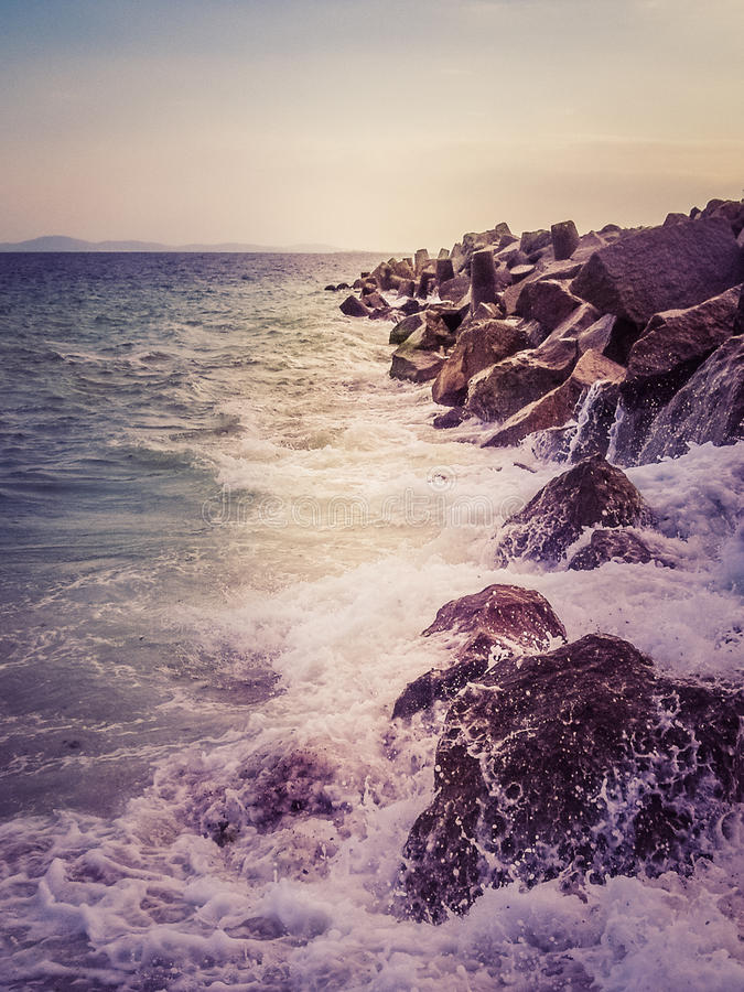 Download Summer Sea Background. Stock Photo - Image: 83717616