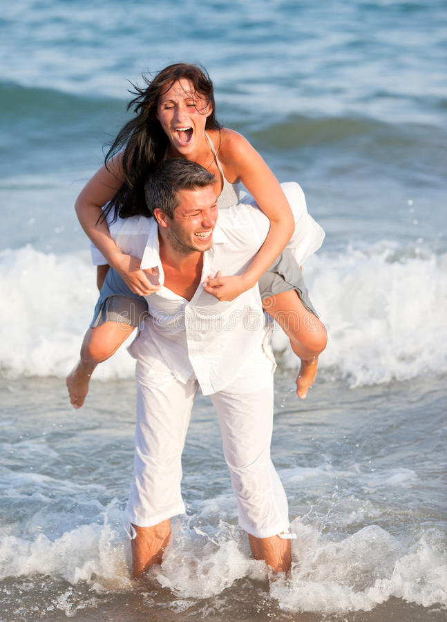 Download Summer Sea Couple Royalty Free Stock Photos - Image: 10677688