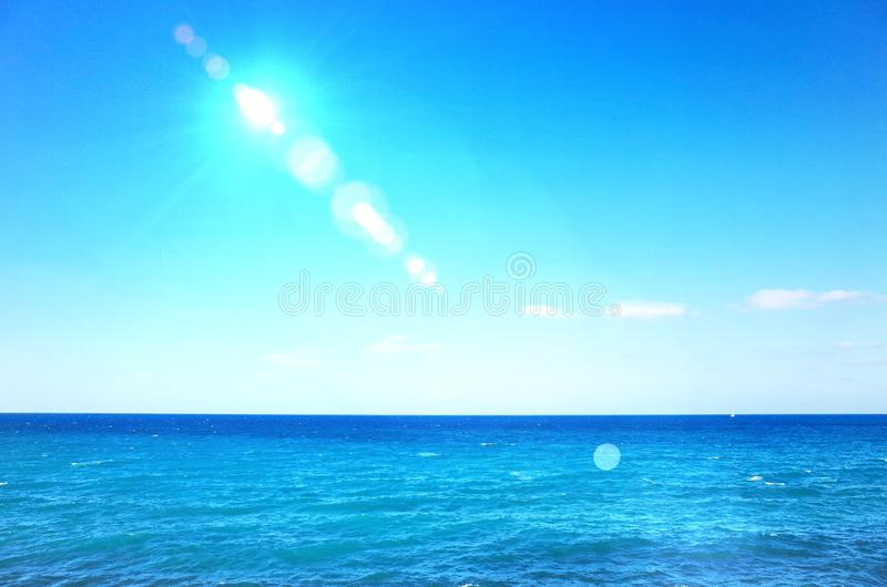 Summer Sea Image. Summer Sea Background, Sea Background, Hot summer, Summer Festival, Music Festival, Sea and Sky royalty free stock photos