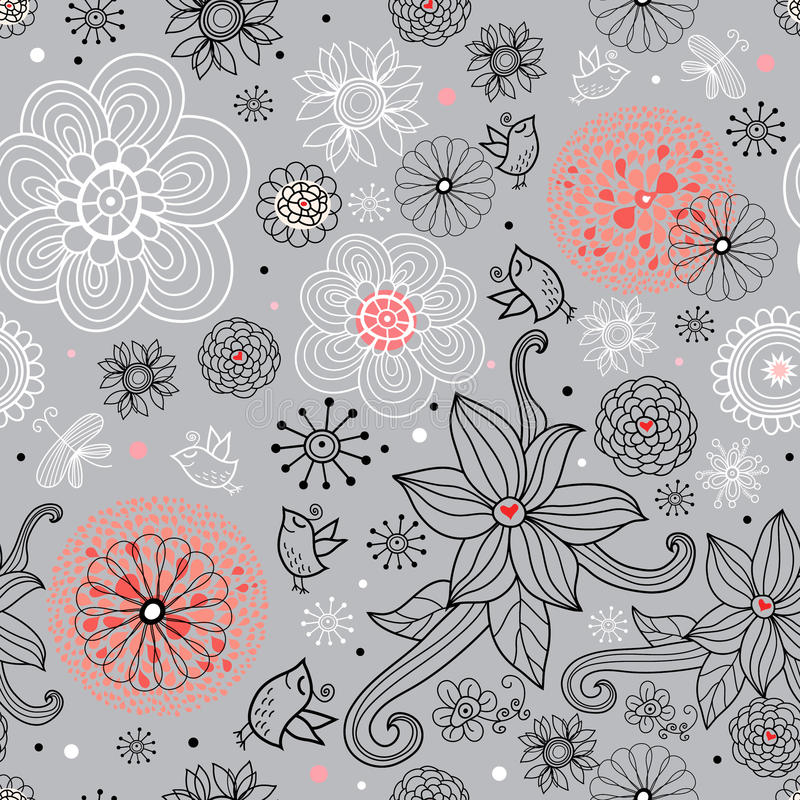 Download Summer Seamless Floral Texture Royalty Free Stock Images - Image: 14856119