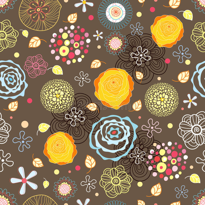 Download Summer Seamless Pattern With Roses Stock Vector - Image: 14954666