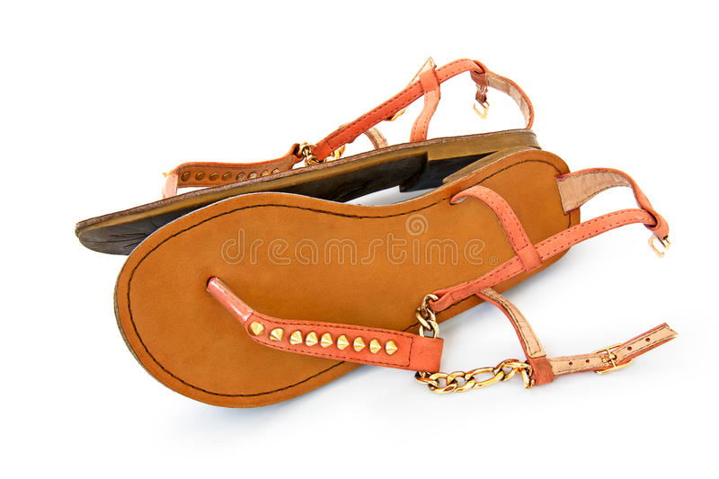 Summer shoes stock images