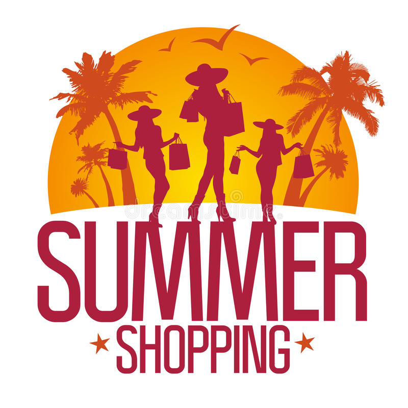 Download Summer Shopping Design Template . Royalty Free Stock Photography - Image: 26514897