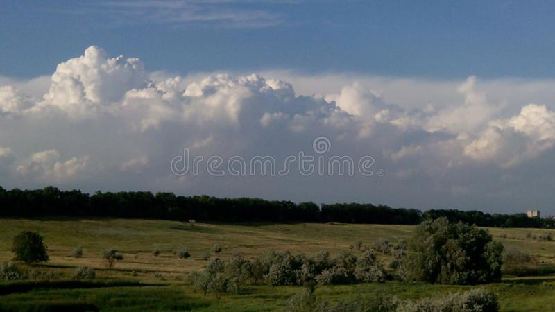 Summer sky royalty free stock photos