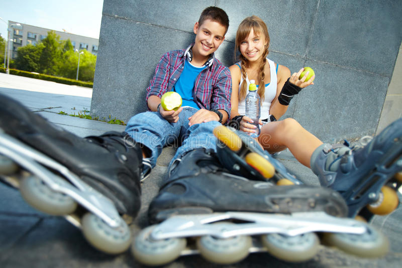 Download Summer snack stock photo. Image of girl, female, adolescent - 28951188