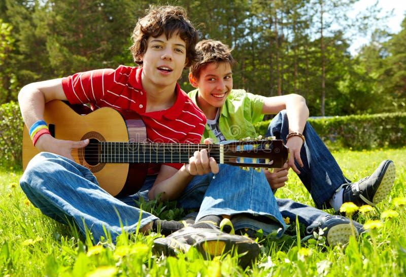 Summer song royalty free stock photo