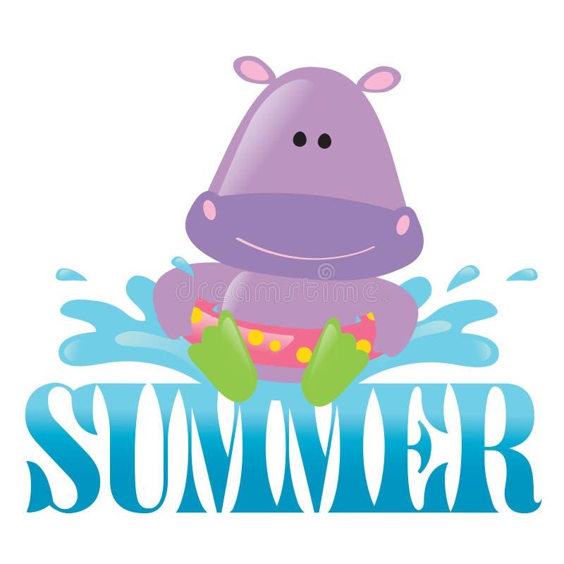 Summer Splash Graphic 3 Stock Photos