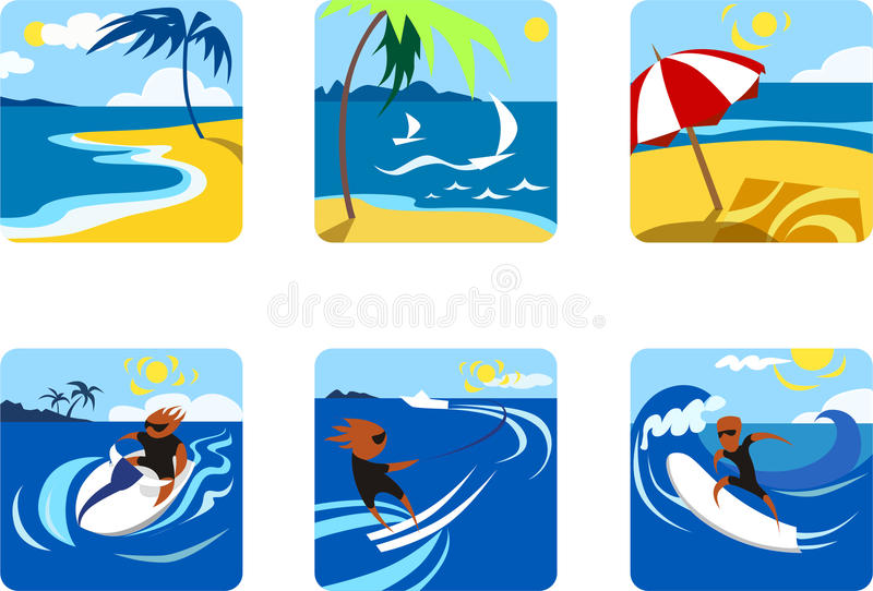 Summer Sports Stock Image