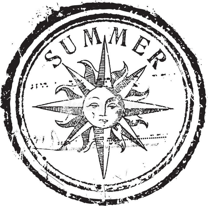 Download Summer Stamp Stock Photos - Image: 8891043