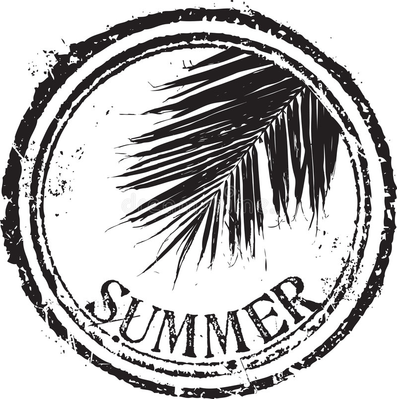 Download Summer stamp stock vector. Image of texture, abstract - 8891051