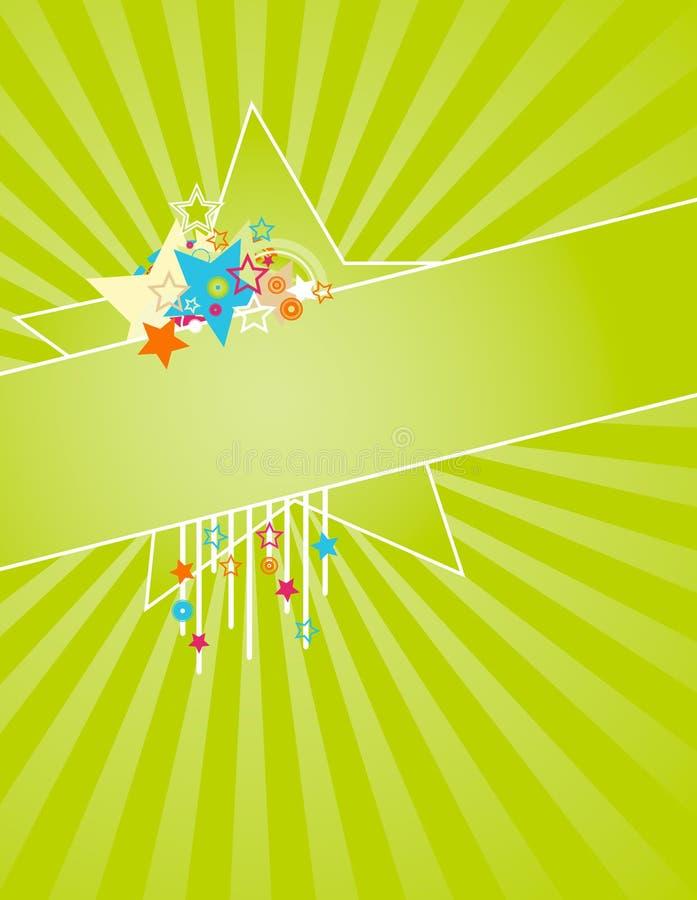 Summer Star Frame Royalty Free Stock Image