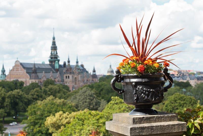 Summer Stockholm stock images
